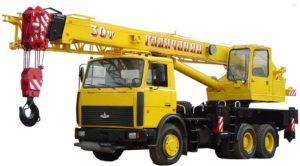 Автокран спецтехника в Выборге и Выборгском районе